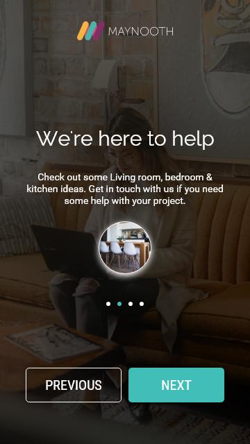 ui design mobile app furniture store